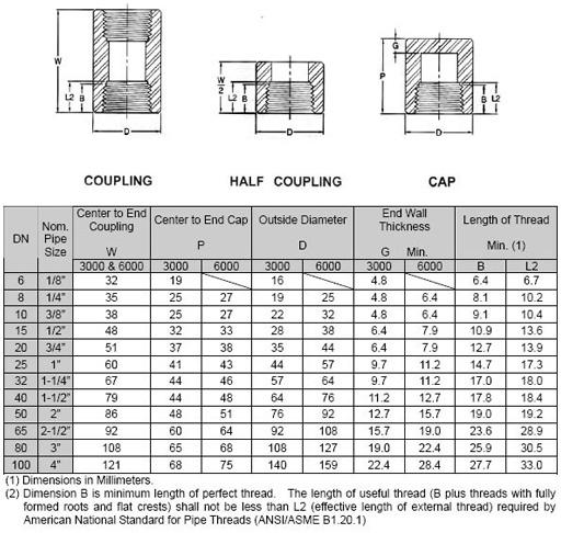 asme high pressure threaded fittings reducing